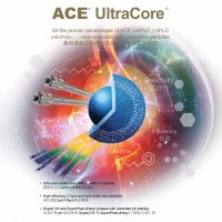ACE ULTRACORE SUPERPHENYLHEXYL 5μ 核殼柱